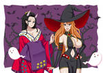 Nami and Robin Halloween Costumes