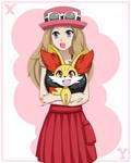 Pokemon Serena by coresix