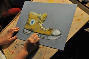 My hands, My shoes by lenischoen