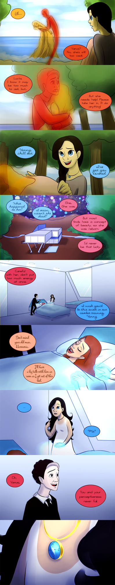 The Adventures of Lyra and Lucia, Chapter 1 Page 5 by Sandy101010
