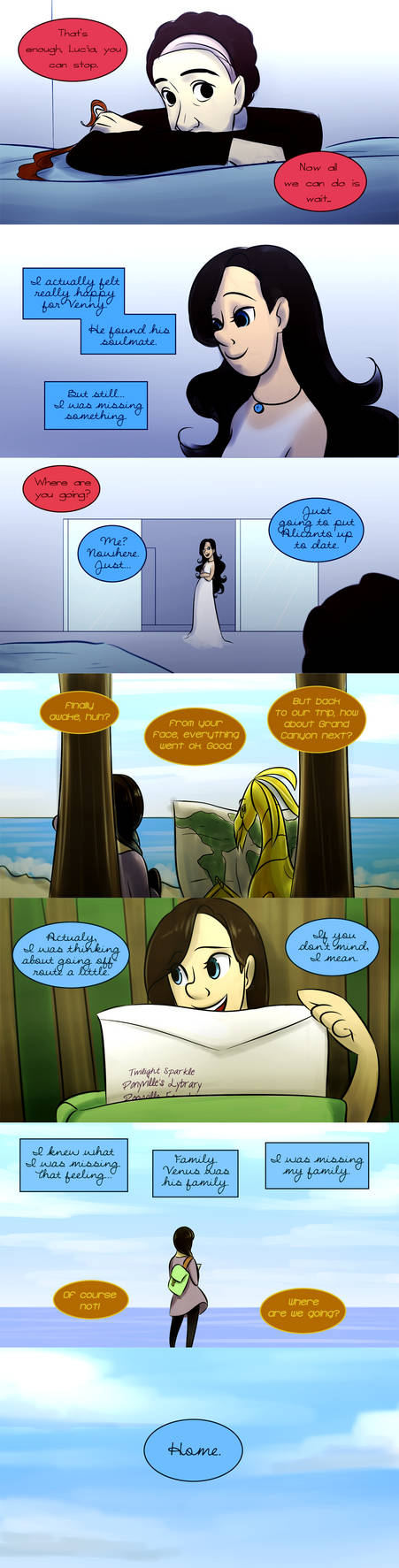 The Adventures of Lyra and Lucia, Chapter 1 Page 6