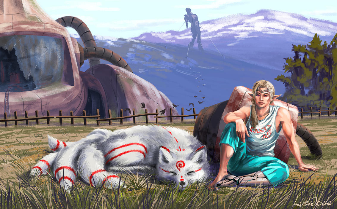 Katori Shingo - japanese fantasy by Lantagriele