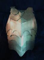 Cardboard Breastplate armor by SabrePanther