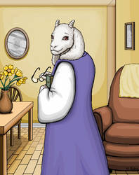 Toriel in Color by SabrePanther