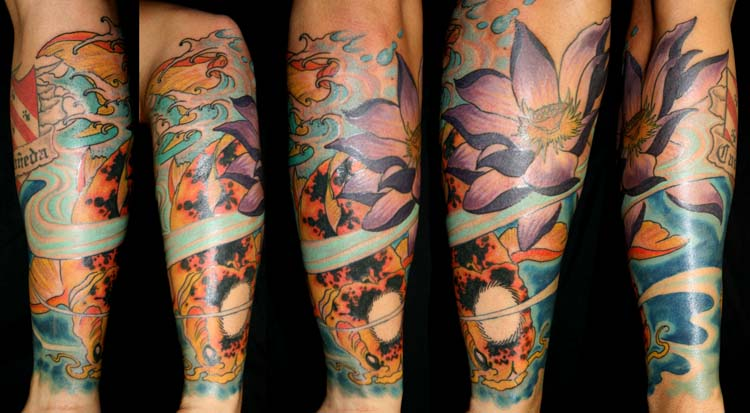 koi fish tattoo designs