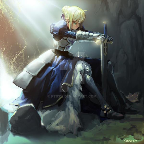 Saber Ver Fate Zero By Pt0317 On DeviantArt