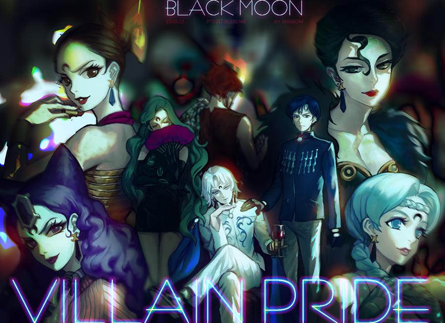 VILLAIN PRIDE _ BLACKMOON by pt0317