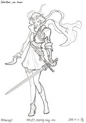 Sailor Moon ver.armor by pt0317