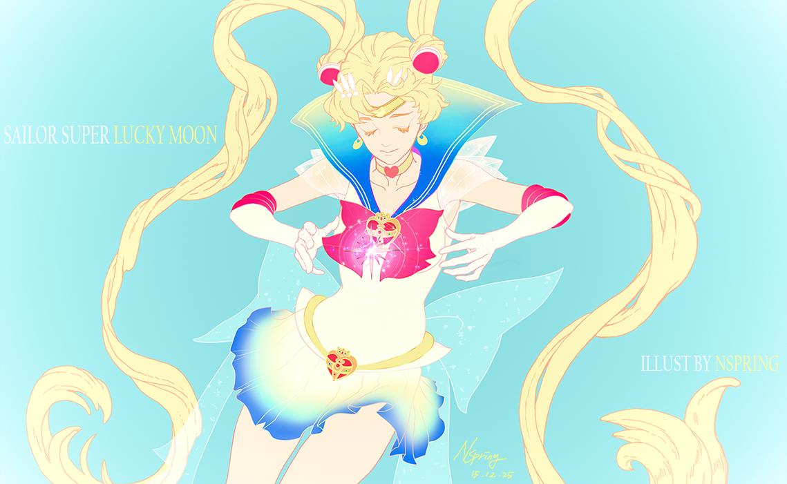 Sailor Super LUCKY MOON by pt0317