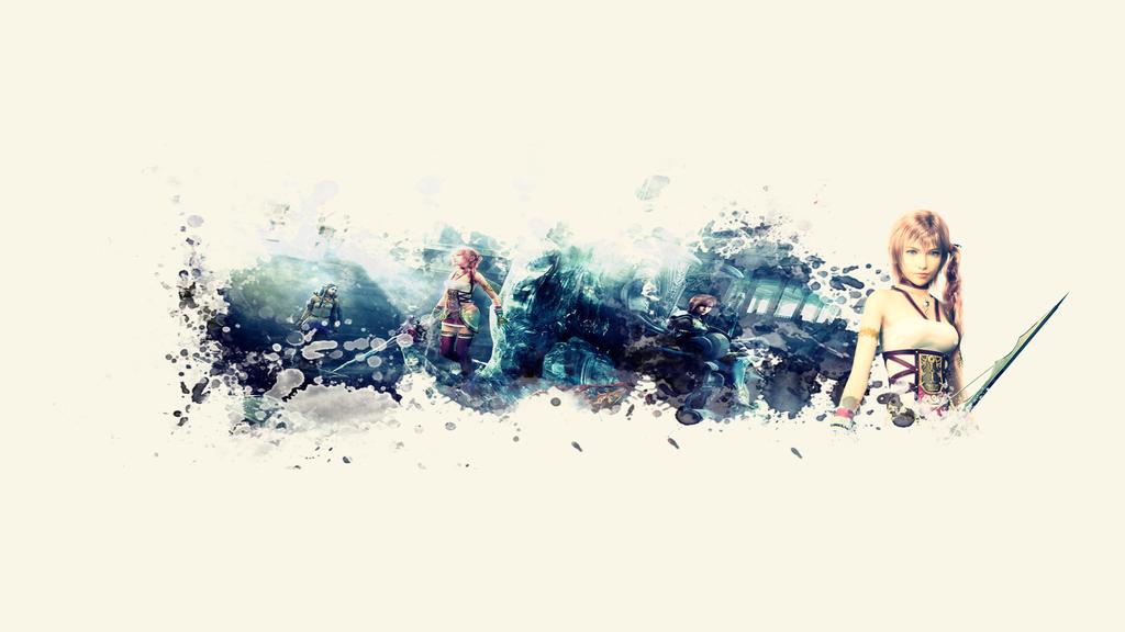 Serah Farron - Youtube Channel Art by xStaticPulse on DeviantArt
