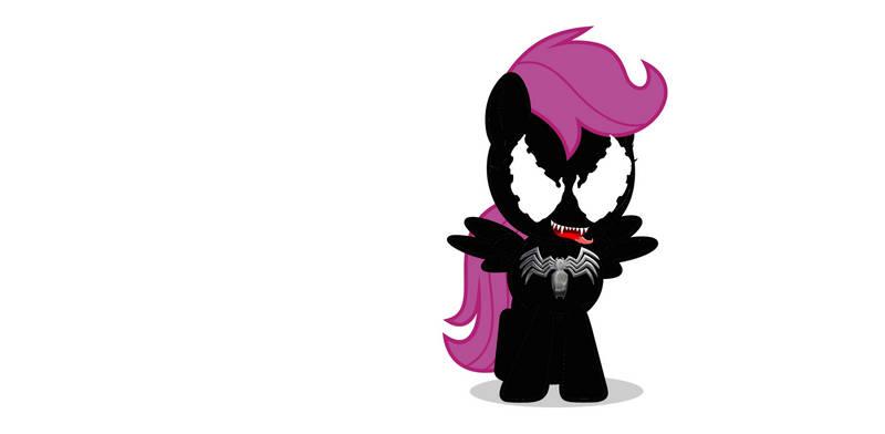 venom scootaloo/spider filly Finale Transformation