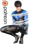 Nightwing bondaged