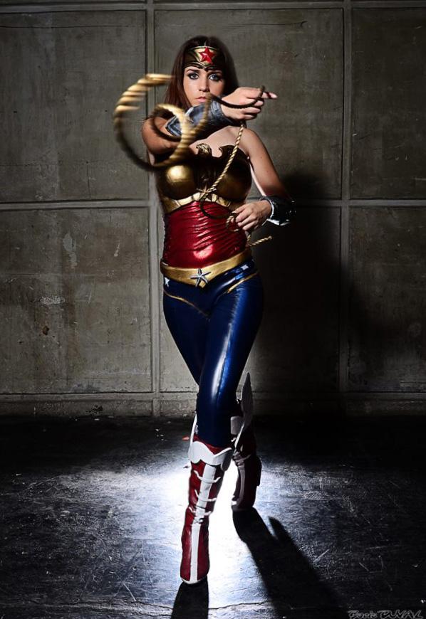 Wonder Woman Injustice cosplay by joulii91 on DeviantArt