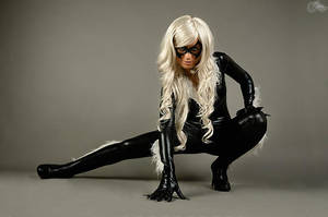 Black Cat cosplay by joulii91