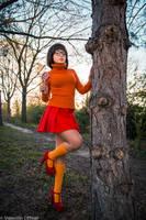 Velma from Scooby Doo cosplay