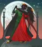 Conrad x Solexi: waltz by SophiaBlackwoodArt