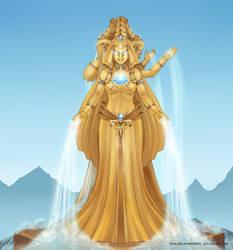 Empyrea gold v1 by SophiaBlackwoodArt