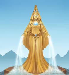 Empyrea gold v2 by SophiaBlackwoodArt