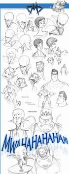 Megamind Doodles II