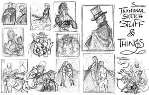 Thumbnails 'n Thoughts by PookaDoodle