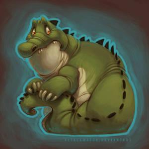 Cringing Croc