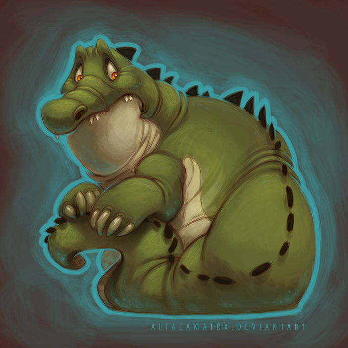 Cringing Croc by Altalamatox
