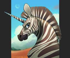 Stripes n' Spikes by PookaDoodle