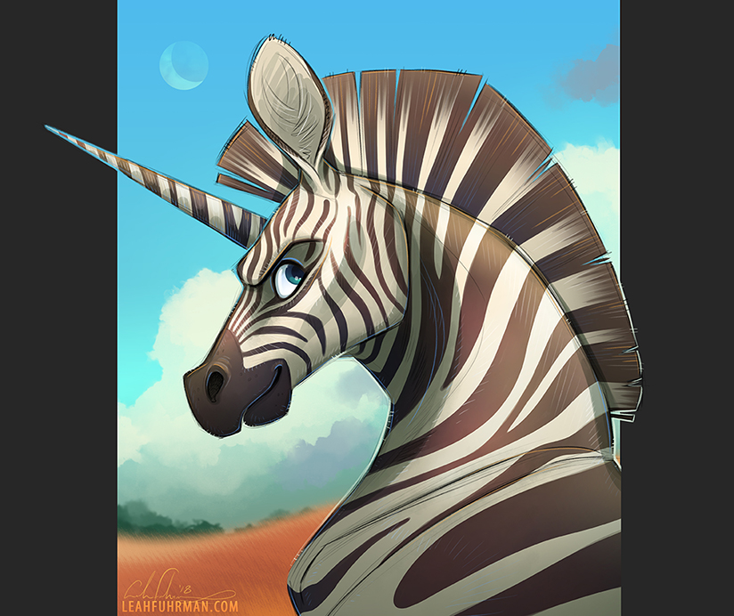 Stripes n' Spikes by PookaDoodle