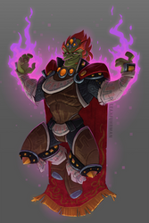 The King of Evil by PookaDoodle