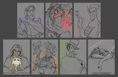 Seven Deadly Sketches