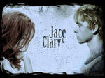 Clary and Jace Wallpaper