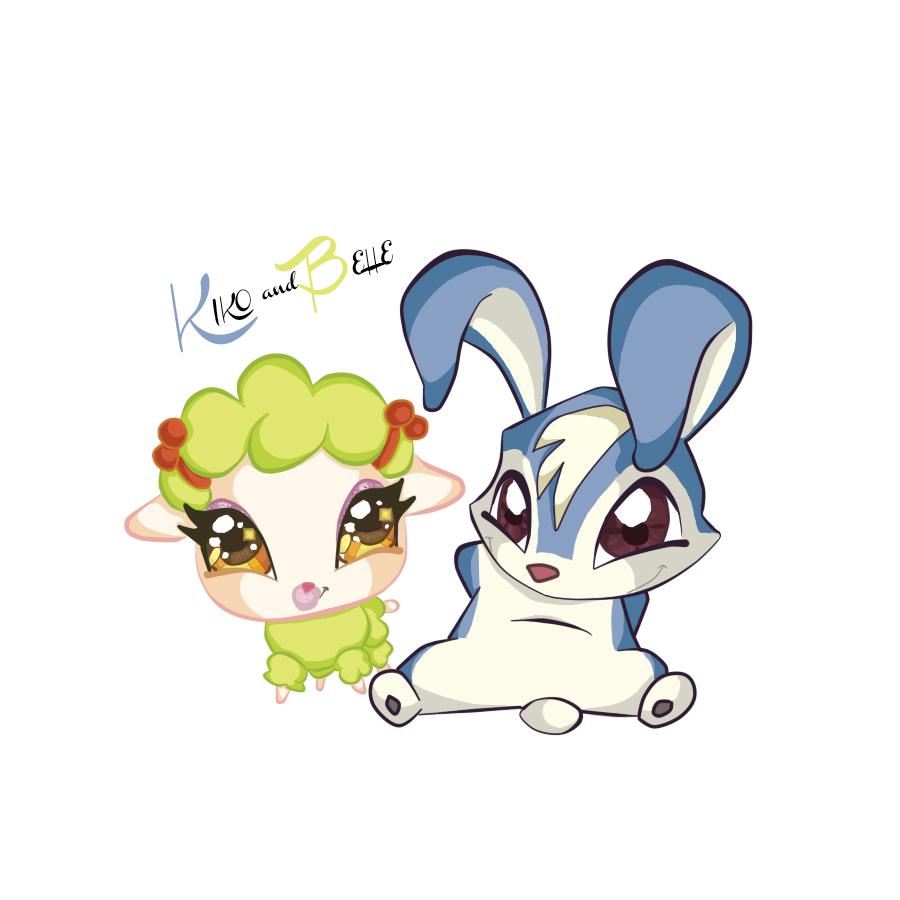 Kiko and Belle by Emmiya