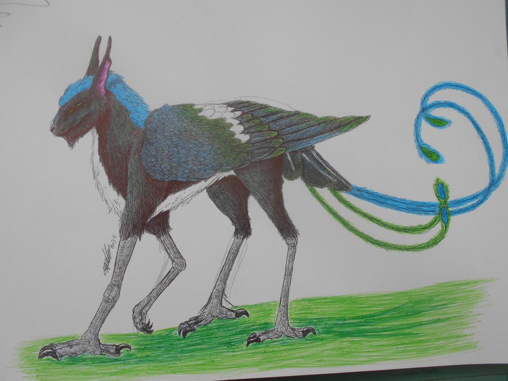 Inna pen sketch by miayan