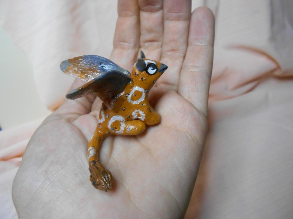 Kika chibi in the palm by miayan