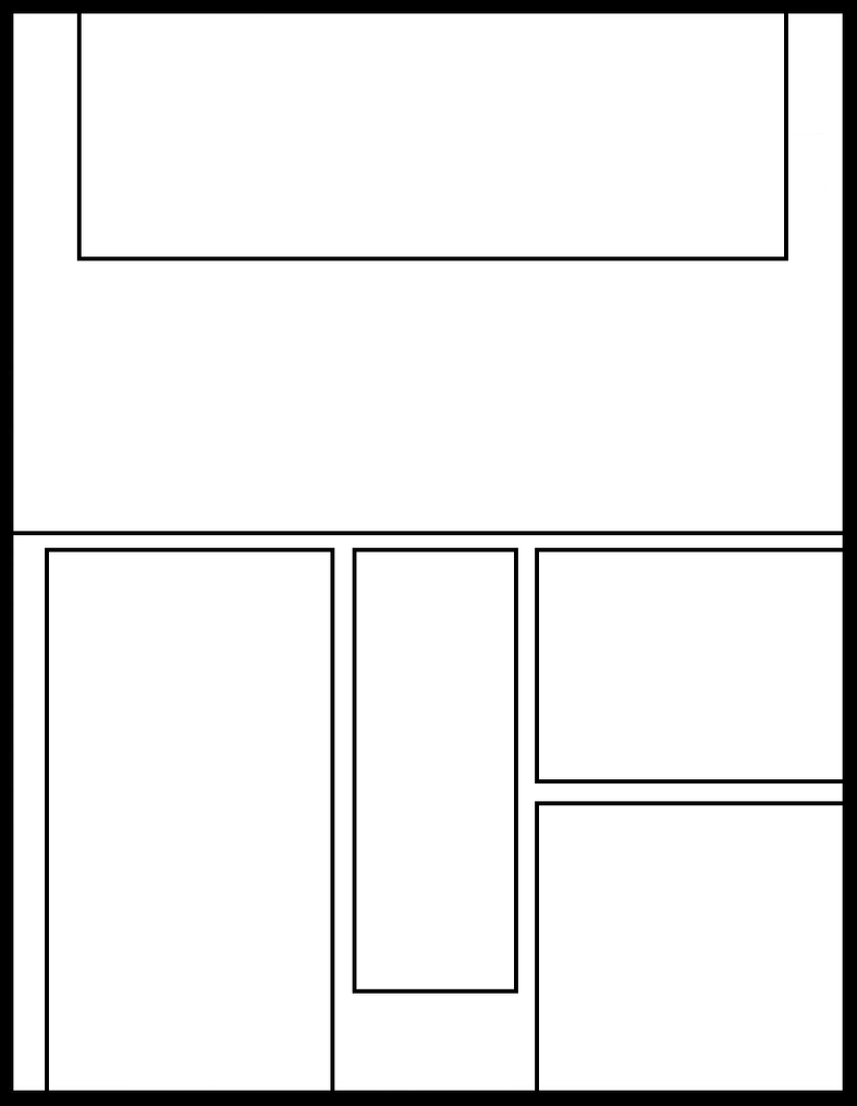 Manga Template 55 By Comic Templates