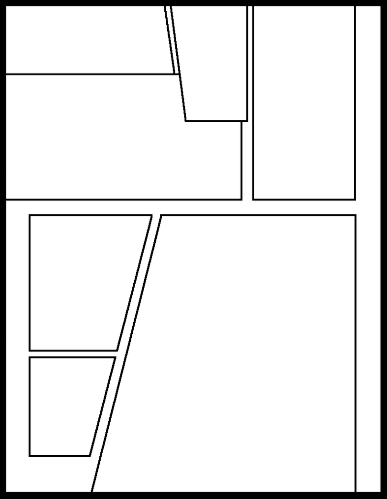 Manga Template 62 by Comic-Templates on DeviantArt