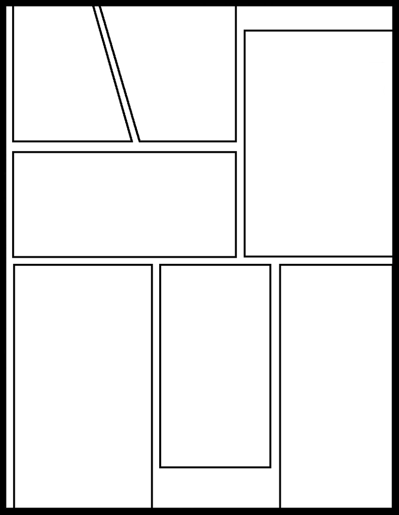 comic template amazoncom comic template large print blank