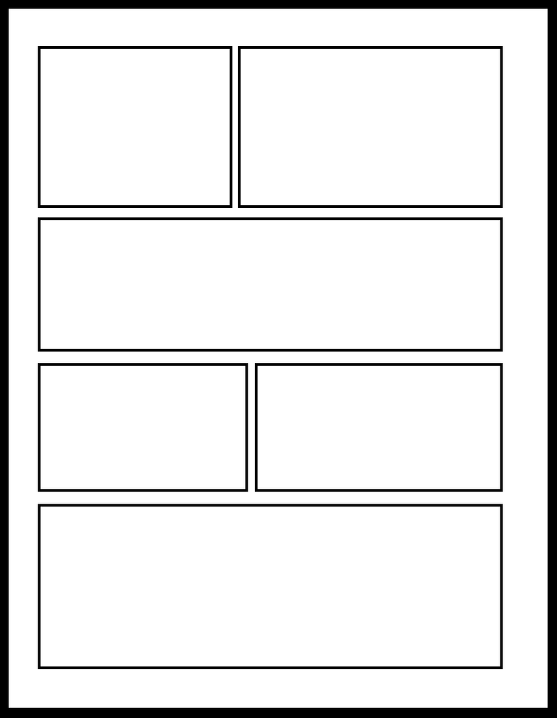 Fantastic Blank Comic Templates Model - Wordpress Themes Ideas ...
