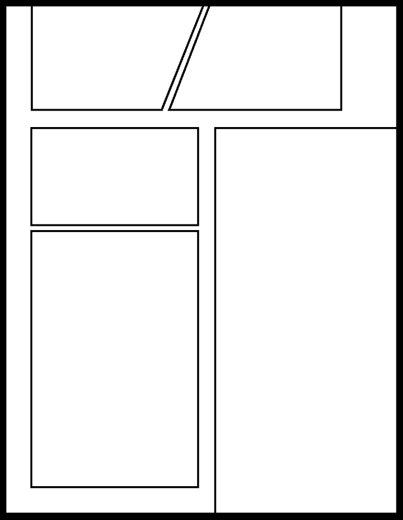 four panel comic strip template - smt 4 by comic templates on deviantart