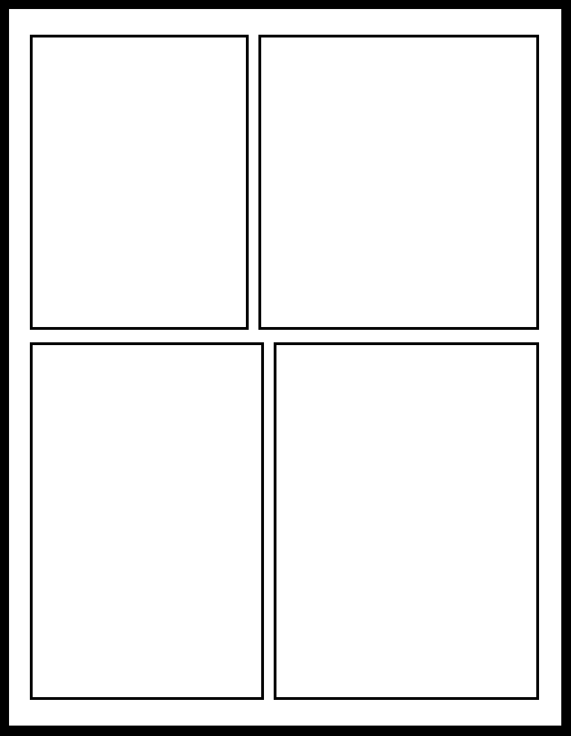 4 panel comic template create a comic how to plan and lay out smt 9 by comic templates on deviantart pronofoot35fo Images