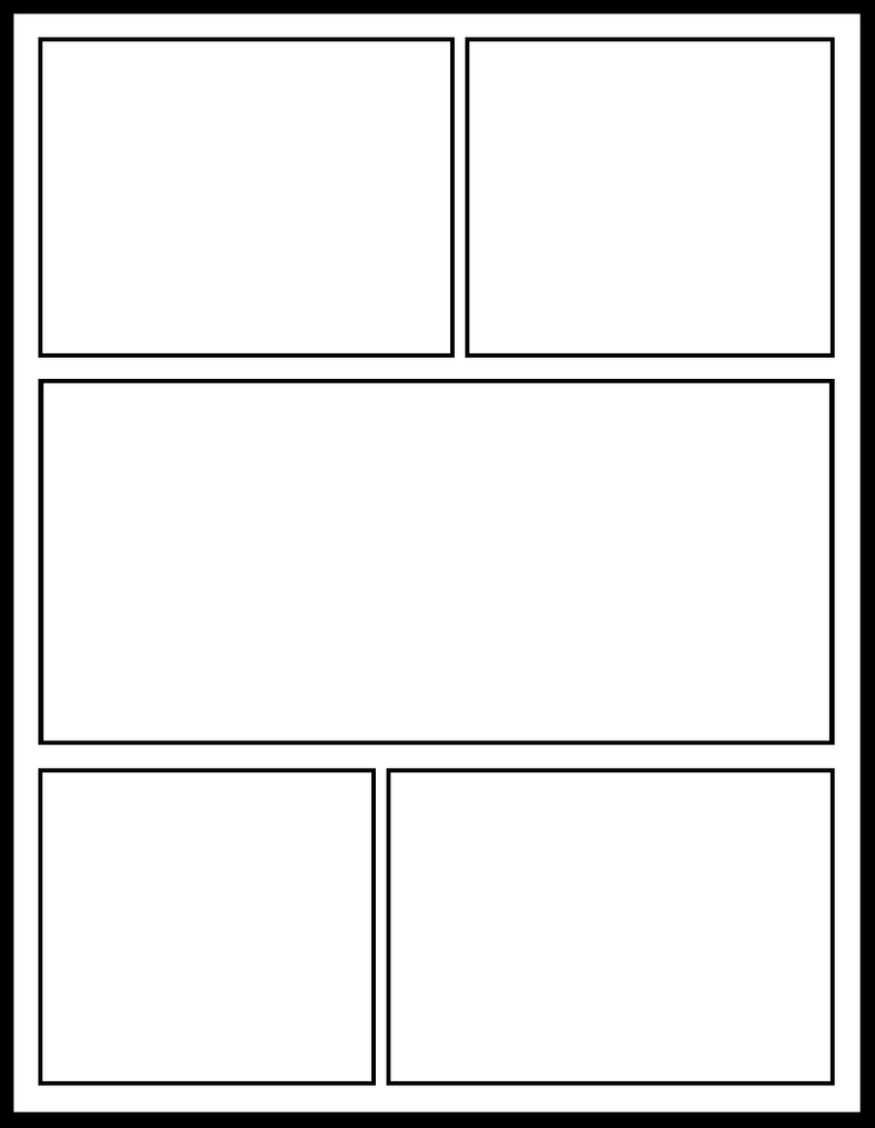 Smt 11 by comic templates on deviantart for Blank book template for kids