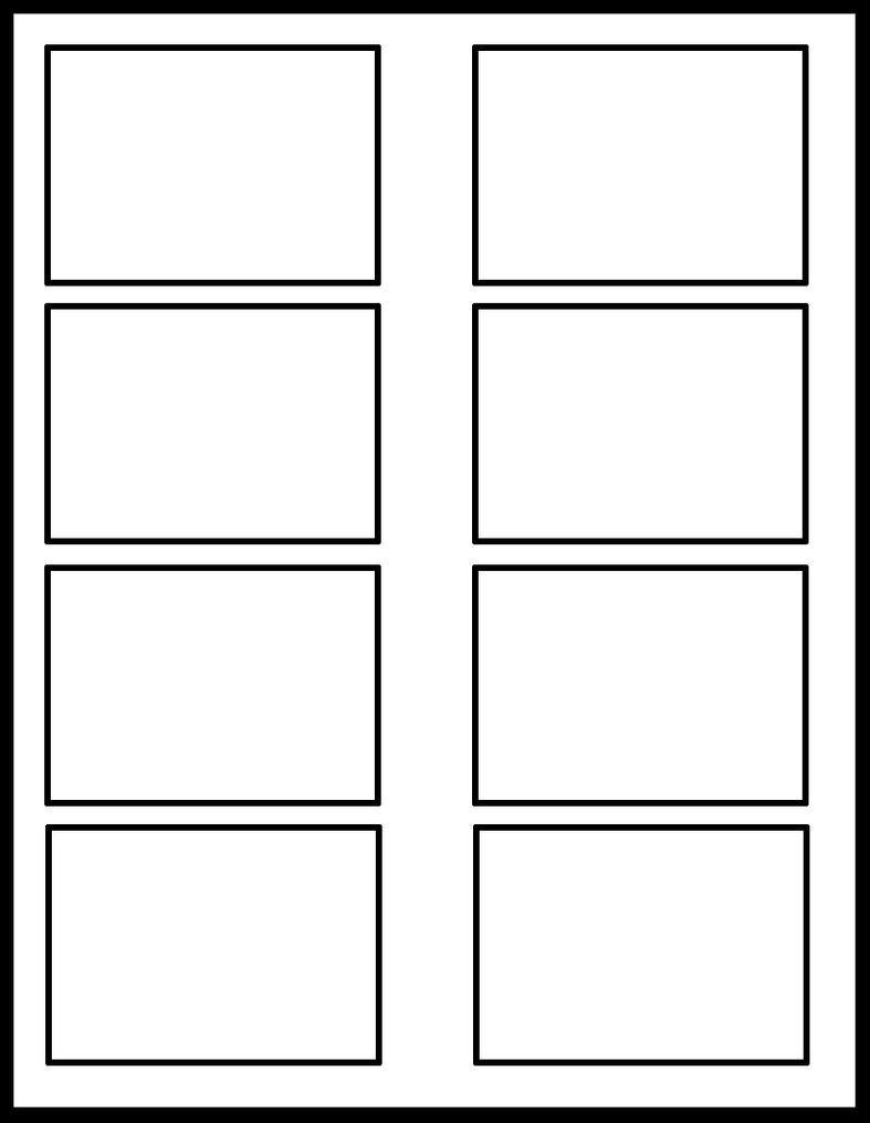 2x4 template