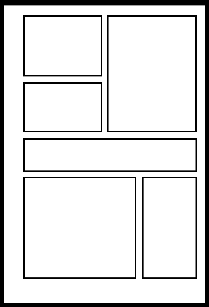Yxb 005 by comic templates on deviantart for Comic strip template maker
