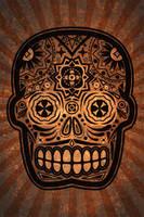 Dia De Los Muertos iPhone by cwylie0