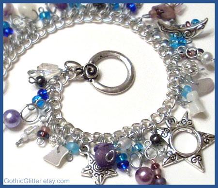 Celestial Charm Bracelet by Gweyeni