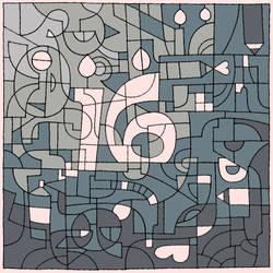 Deviant Art's 16th Birthday by Gweyeni
