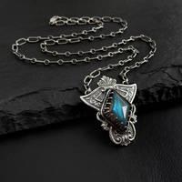 Egyptian Labradorite Necklace