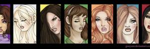 Secret Circle Girls by Gweyeni