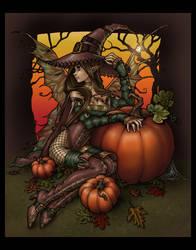 Halloween Fae - Colored by Gweyeni
