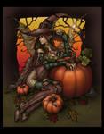 Halloween Fae - Colored